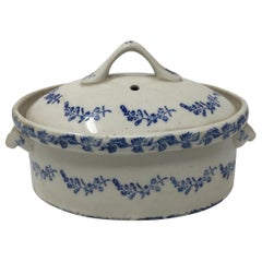 Antique Covered Casserole Dish
