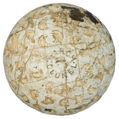 Antique Crescent Moon Pattern Golf Ball, Arch Colonel