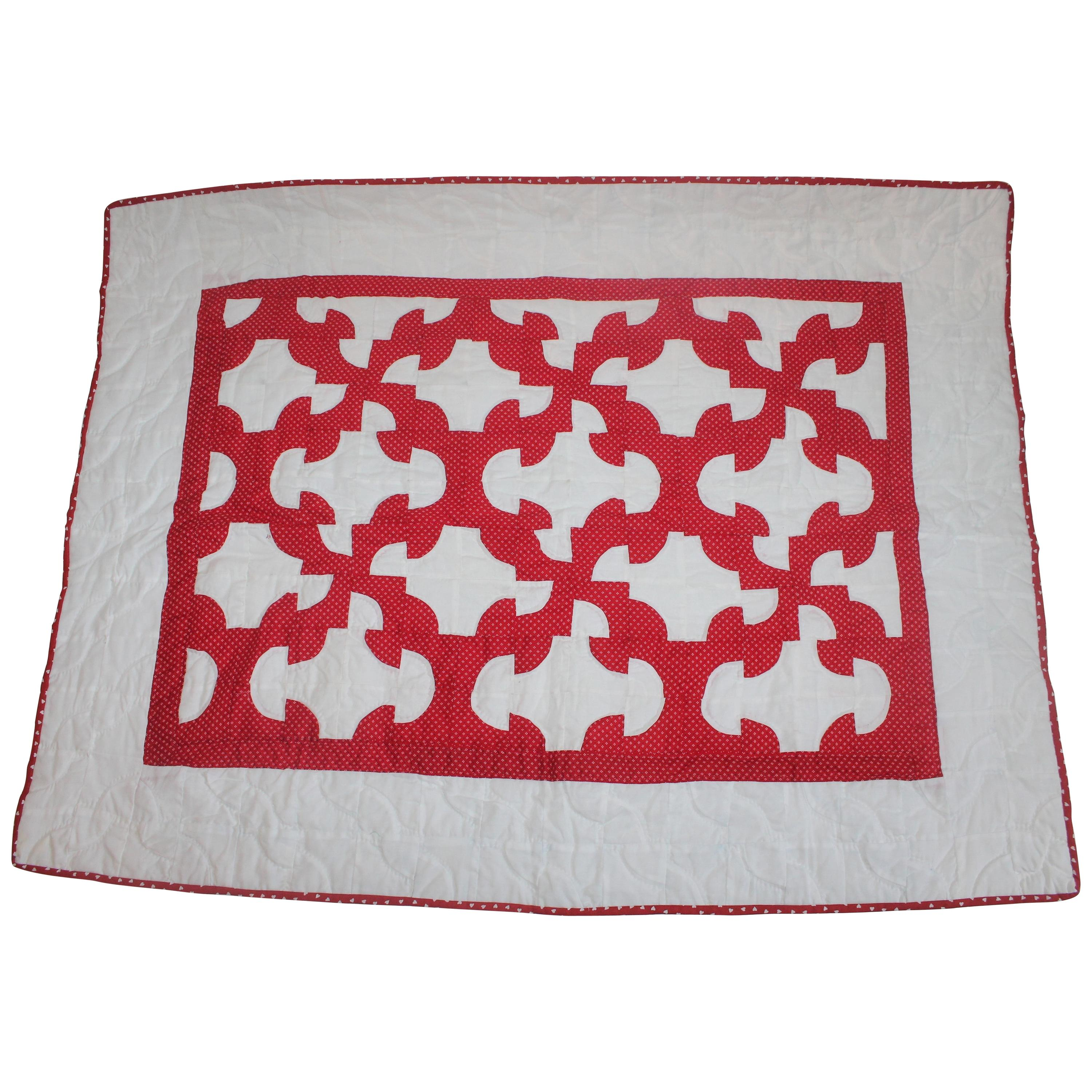 Antique Crib Quilt from Lancaster, PA