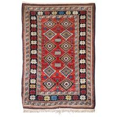 Antique Cuba Shirwan Carpet, circa 1920 Collector Piece