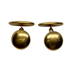 Antique Cufflinks in 14k Yellow Gold
