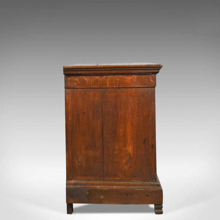 Country Antique Cupboard 19th Century, French, Oak, Cabinet circa 1850