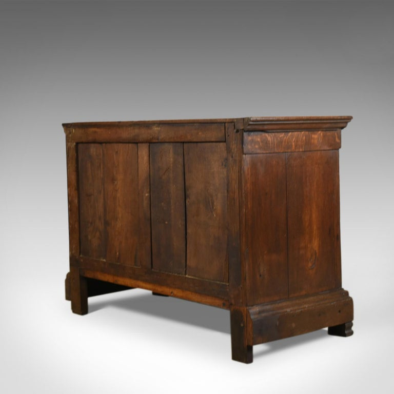 Antique Cupboard 19th Century, French, Oak, Cabinet circa 1850 In Good Condition In Hele, Devon, GB
