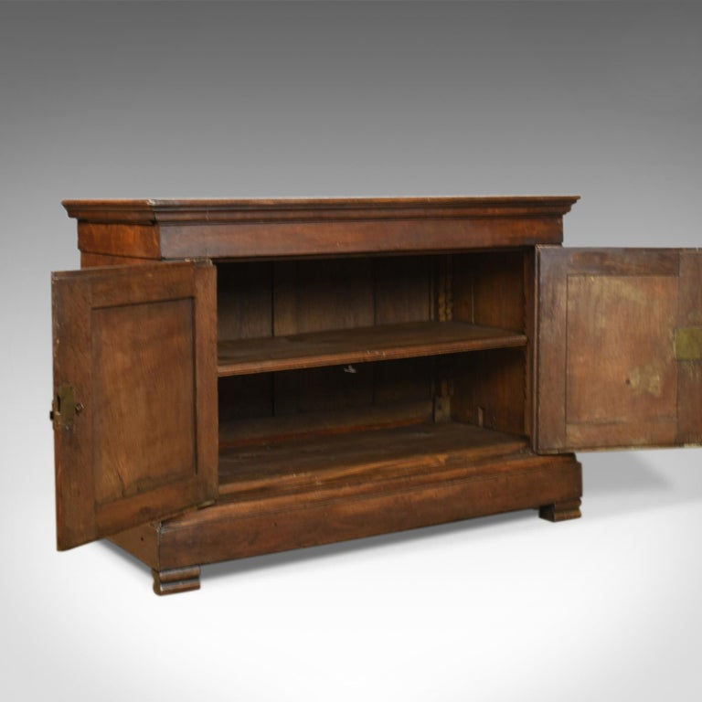 Antique Cupboard 19th Century, French, Oak, Cabinet circa 1850 1