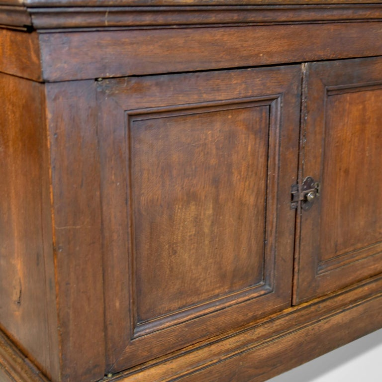 Antique Cupboard 19th Century, French, Oak, Cabinet circa 1850 4