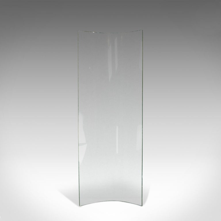 Antique Curved Glass Sheet, English, Victorian, Bow, Pane, 19th Century For Sale 2
