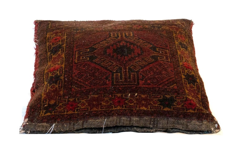 Antique wool pillowcase zipper cushion handmade Balouch Kilim pillow cover, view one of the most comprehensive collections of the decorative pillow, handmade traditional rugs, Kilim cushions cover Furniture, with worldwide delivery. Our Gallery