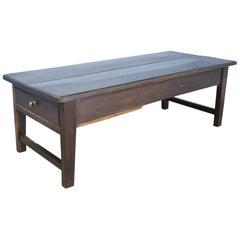 Antique Dark Chestnut Coffee Table