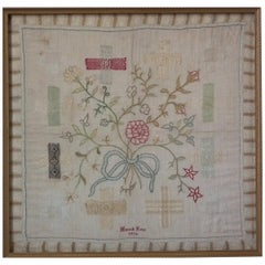 Antique Darning Sampler, 1779 by Hannah Kent