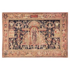"Antique D'Art De Rambouillet Edition French Tapestry. Size: 9' 9"" x 13' 10"""