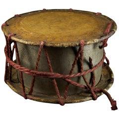 Antique Decorated Ethnic Raditional Drum