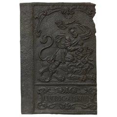 Antique Decorative Fireback / Backsplash