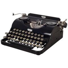 Antique Depression Era Royal Junior Typewriter, circa 1935
