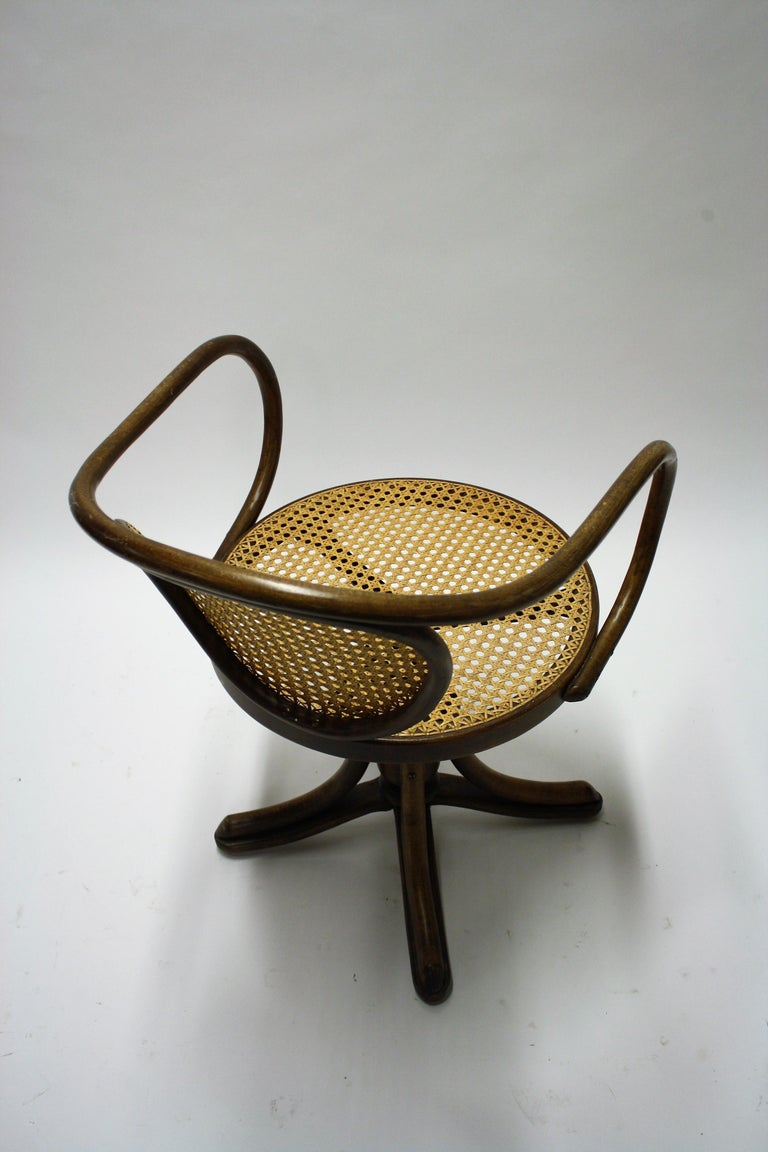 Antique Desk Chair By Thonet 1900s At 1stdibs