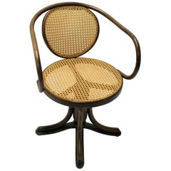 Antique Desk Chair by Thonet, 1900s