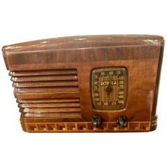 Antique Detrola Rare Fancy Wood Restored Bluetooth Tube Radio