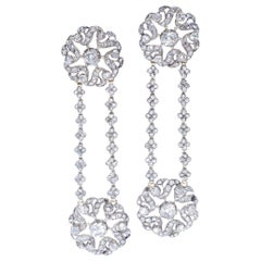 Antique Diamond Ear Pendants