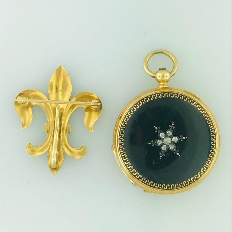 Antique French Diamond