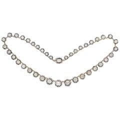 Antique Diamond Necklace, circa 1880