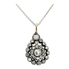 Antique Diamond Pendant, circa 1880