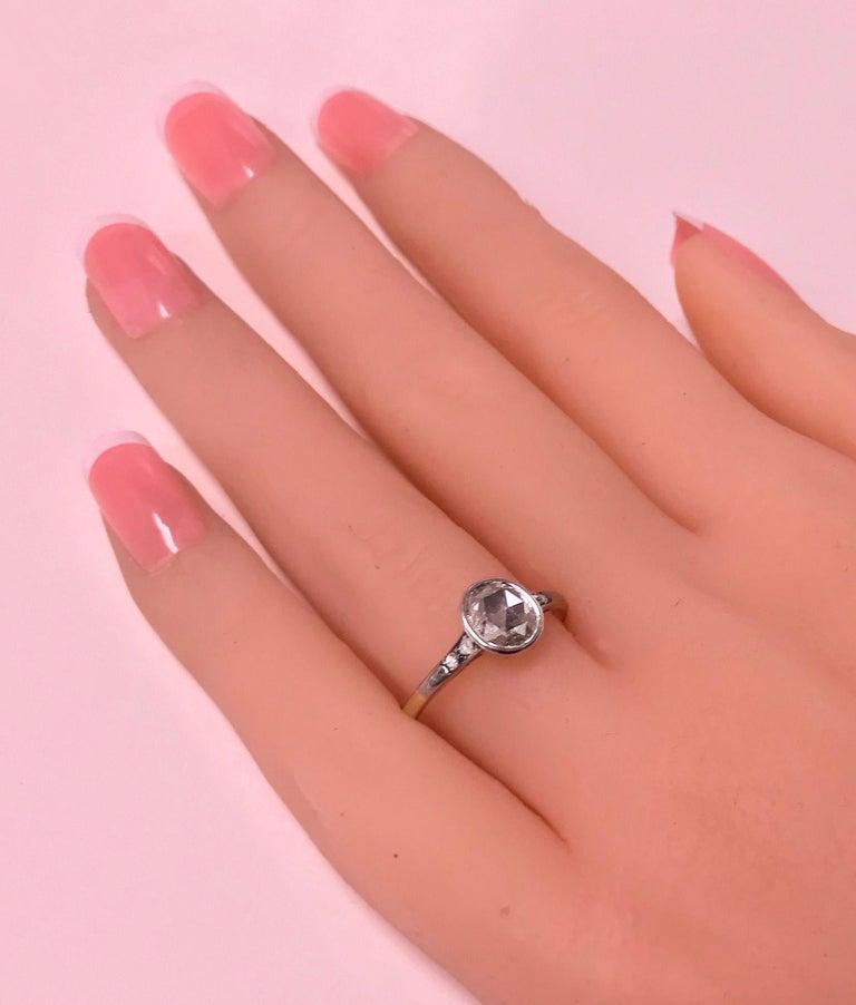 Antique Diamond Ring, circa 1920 For Sale 1