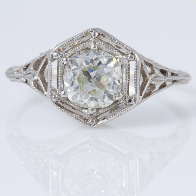 Antique Diamond Ring For Sale 4