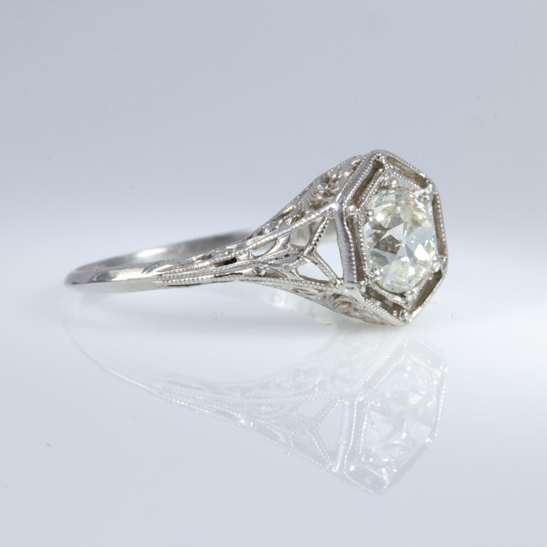 Antique Diamond Ring For Sale 5