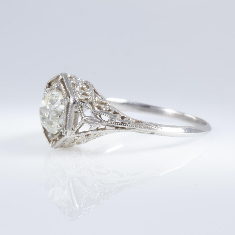 Antique Diamond Ring For Sale 6