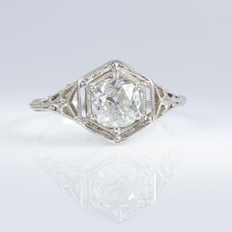 Antique Diamond Ring For Sale 7