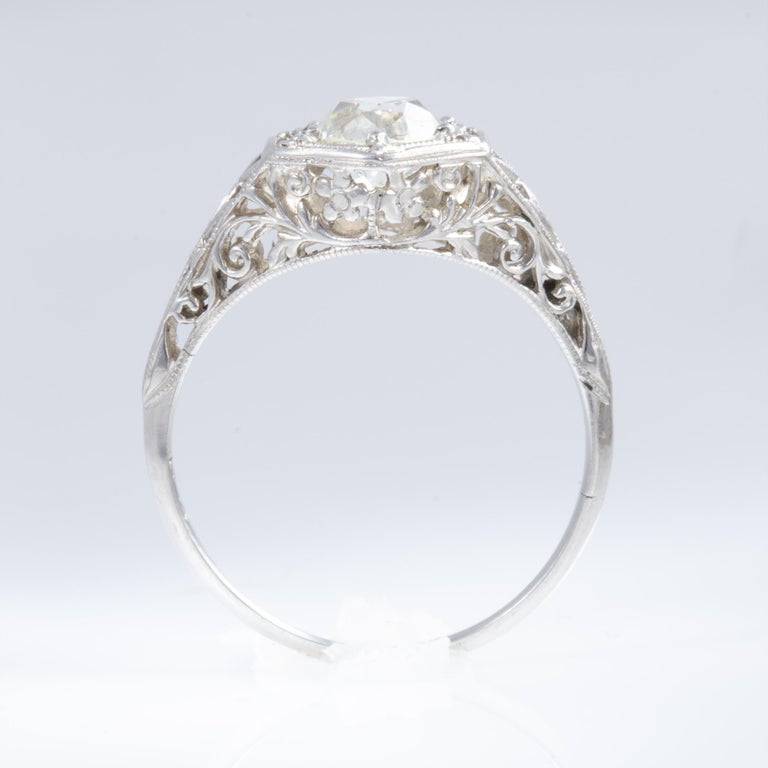 Antique Diamond Ring For Sale 8