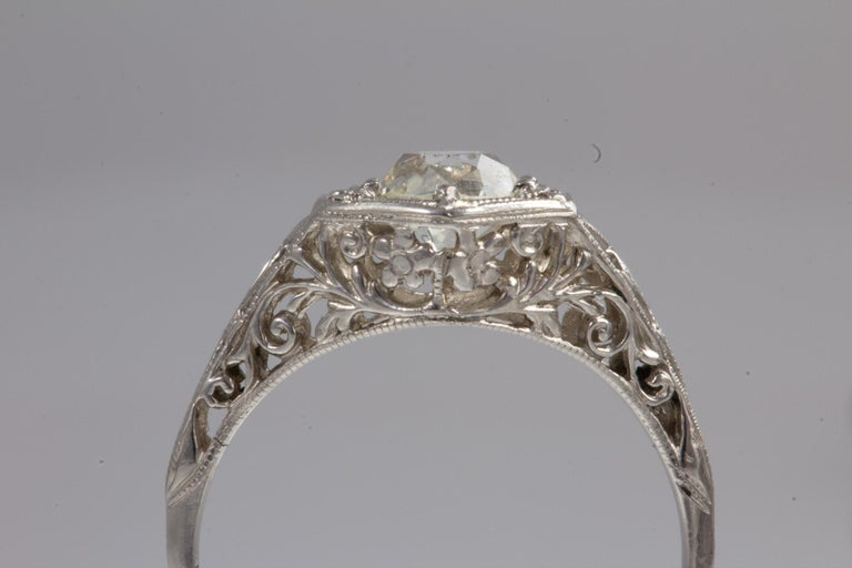 Antique Diamond Ring For Sale 9