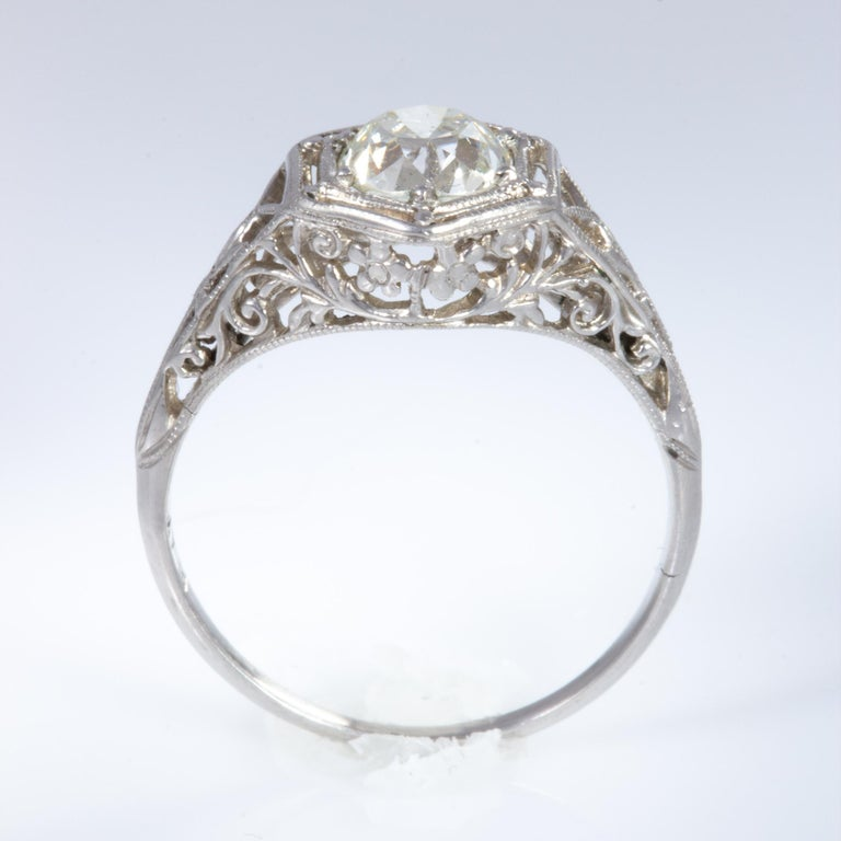 Antique Diamond Ring For Sale 10