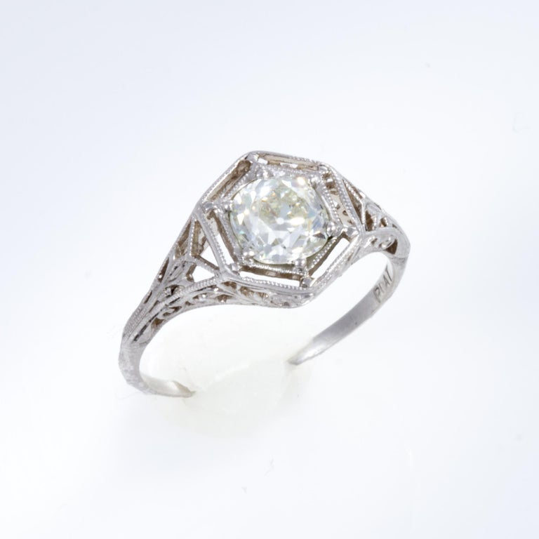 Antique Diamond Ring For Sale 11