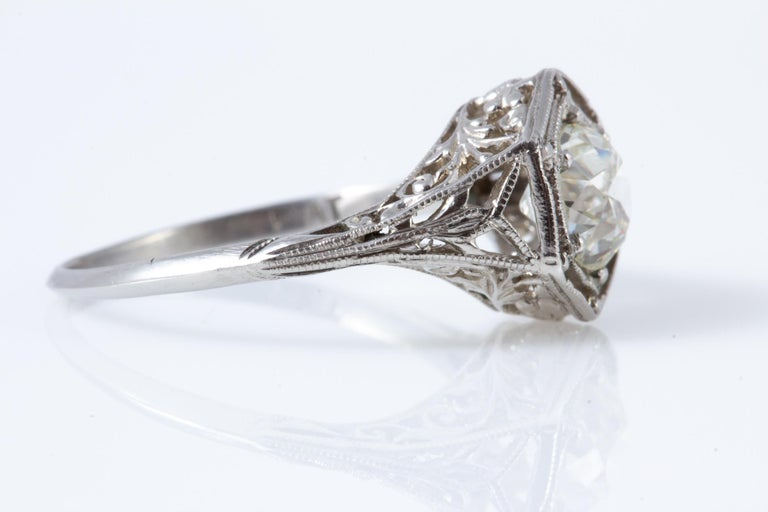 Antique Diamond Ring For Sale 2