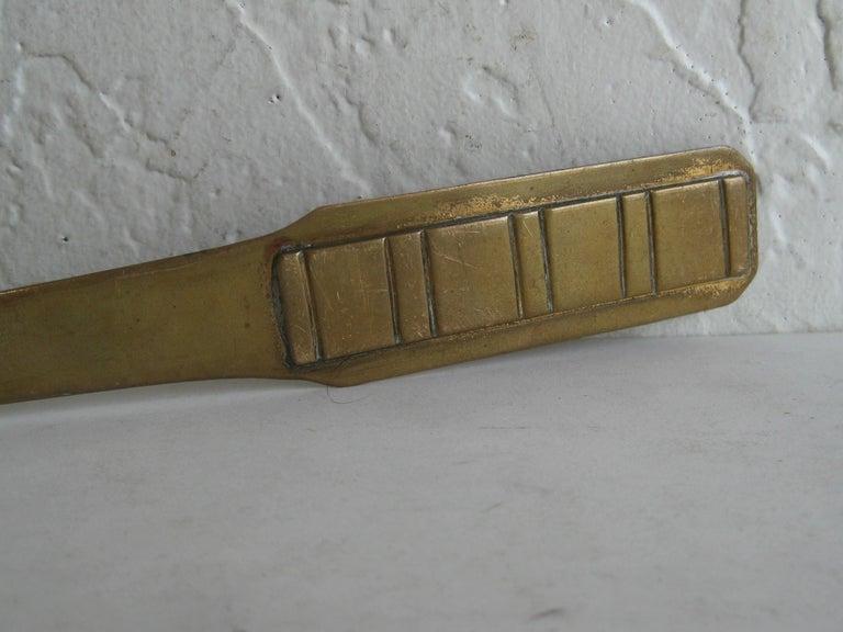 Hand-Crafted Antique Dirk Van Erp Hand-Hammered Copper Arts & Crafts Letter Opener For Sale