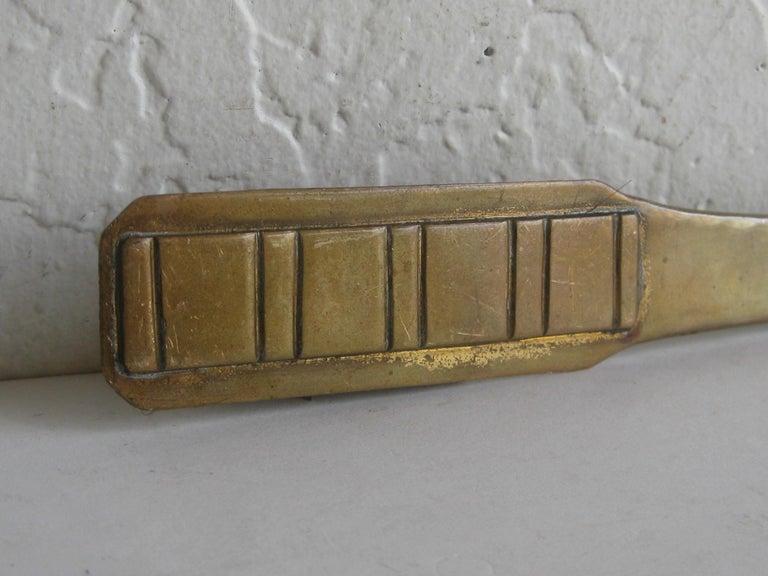20th Century Antique Dirk Van Erp Hand-Hammered Copper Arts & Crafts Letter Opener For Sale