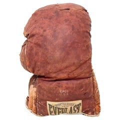 Antique Distress Battered Sport EP14 Leather Boxing Glove Everlast USA