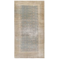 Antique Distressed Khotan Samarkand Rug, circa 1900  6'7 x 13'2