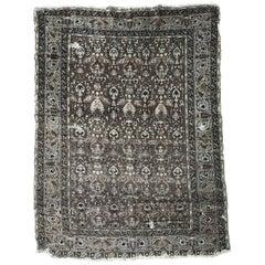 Antique Distressed Turkish Armenian Rug