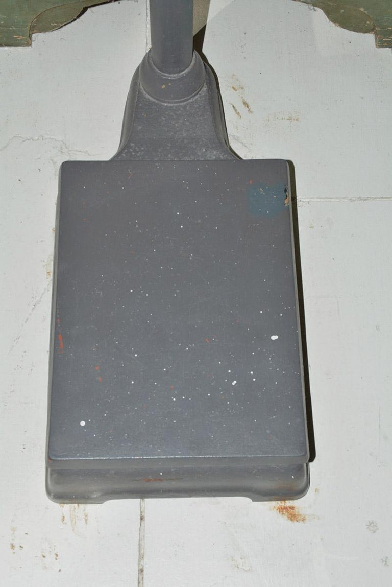 Iron Antique Doctors Standing Scale For Sale