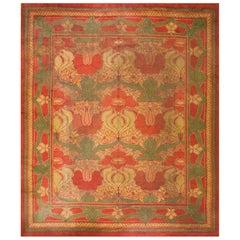 Antique Donegal Arts & Crafts Carpet