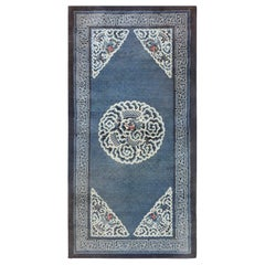 Antique Dragon Chinese Rug. Size: 3 ft 3 in x 6 ft 4 in (0.99 m x 1.93 m)