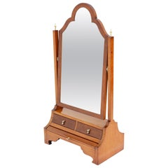 Antique Dressing Table Swing Mirror Toilet, 19th Century