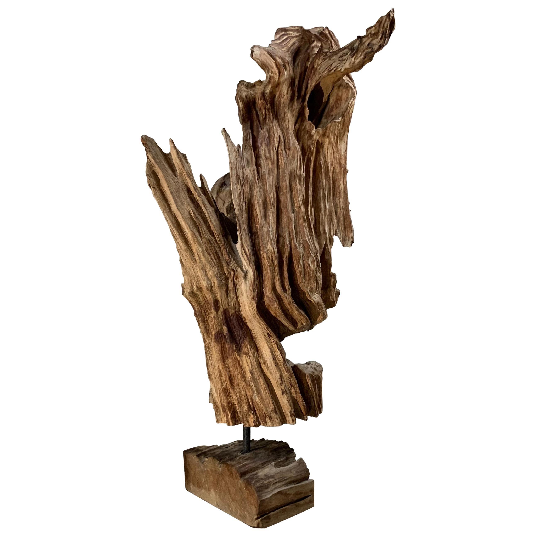 Antique Driftwood Sculpture