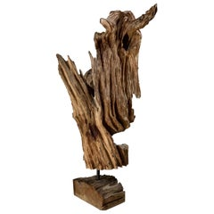 Antique Driftwood Sculpture