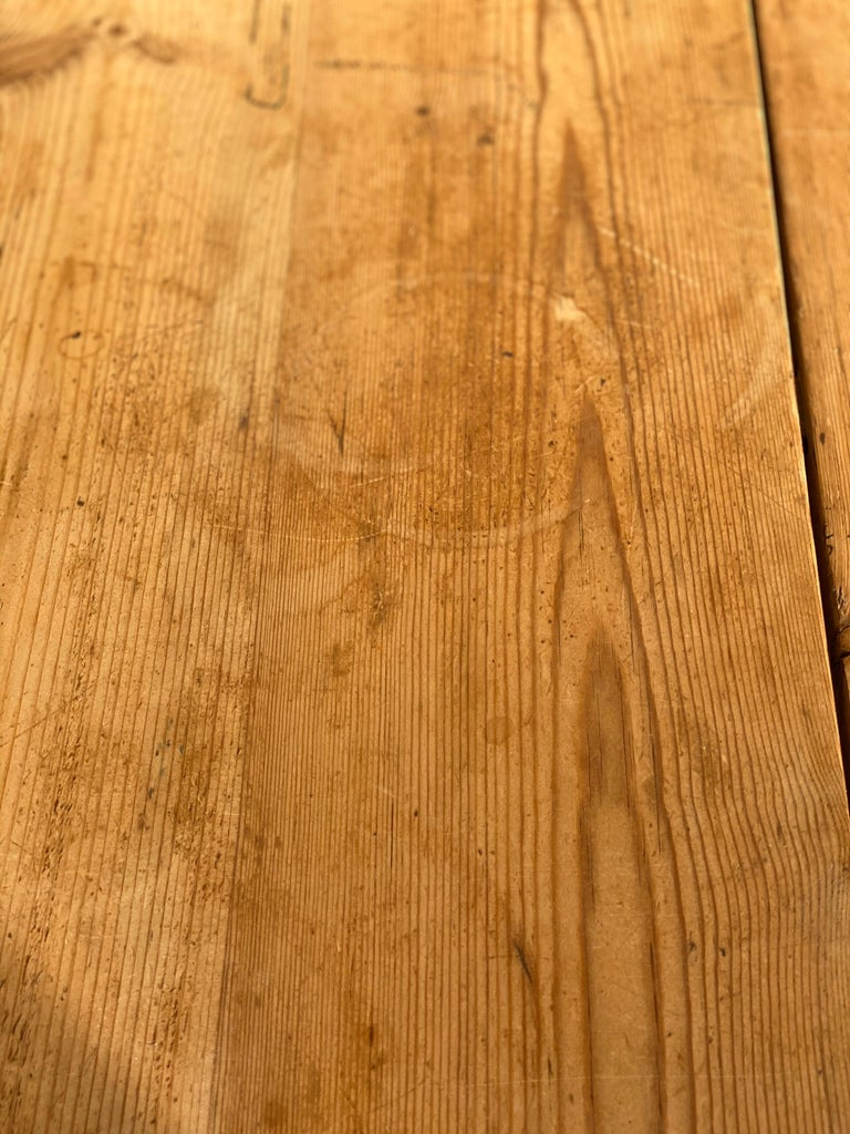 Antique Dutch Pine Dining Table, circa 1870 For Sale 10