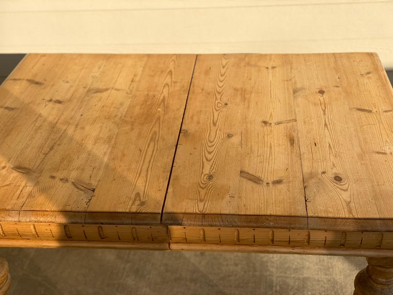 Antique Dutch Pine Dining Table, circa 1870 For Sale 11