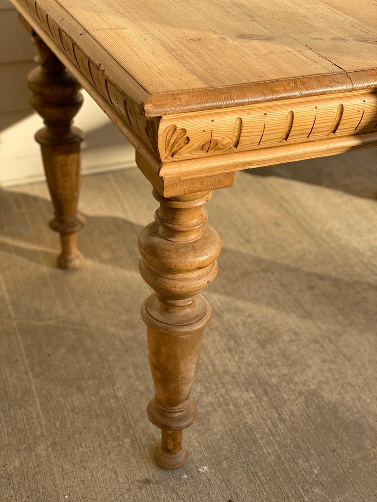 Antique Dutch Pine Dining Table, circa 1870 For Sale 15