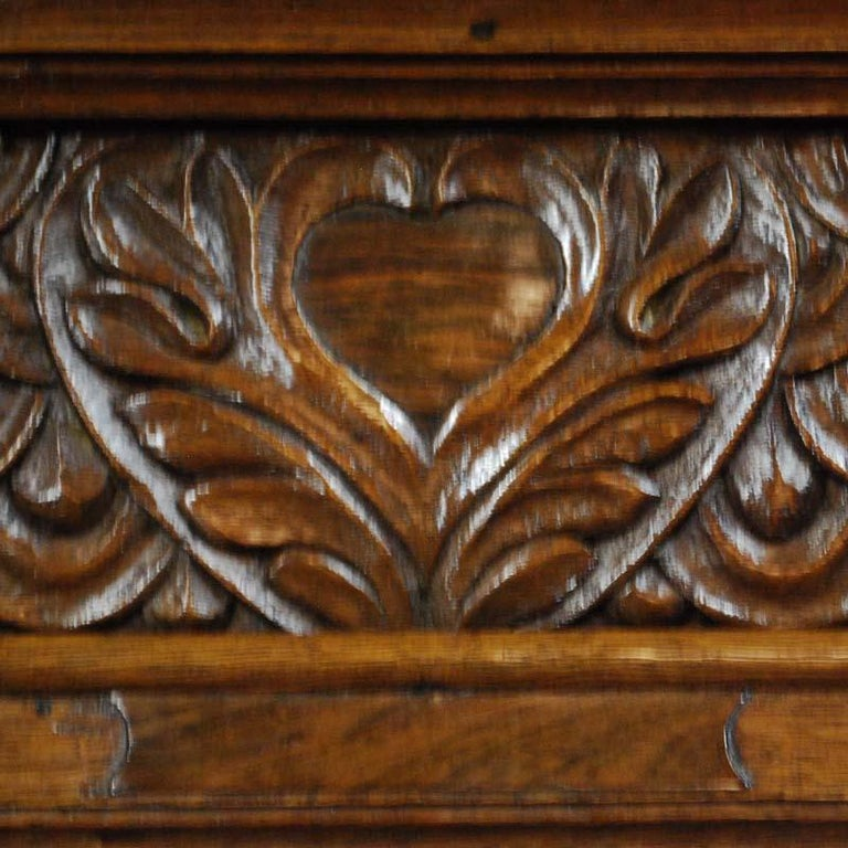 Antique Dutch Renaissance Oak  Cabinet For Sale 5