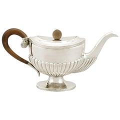 Antique Dutch Silver Teapot, 1829